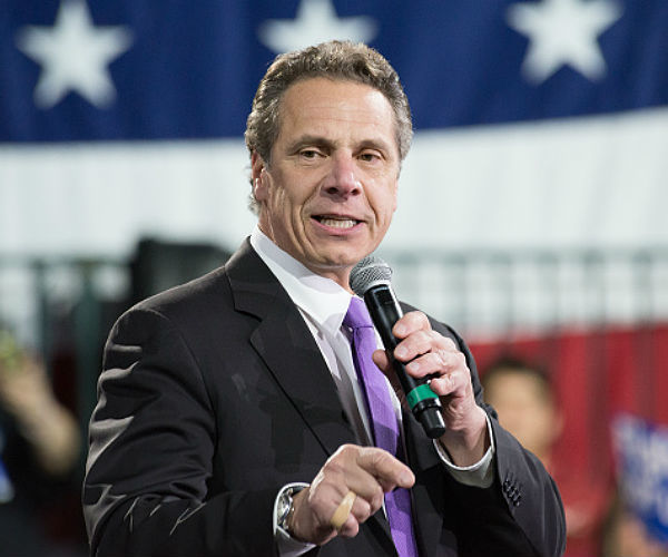 Cuomo donates $111K from Harvey Weinstein to women's charity